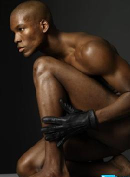 black male models nude