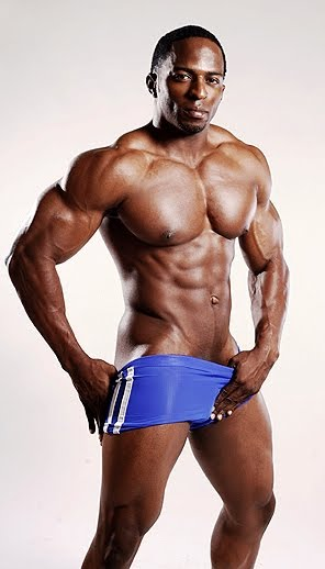 Black male atheletes naked