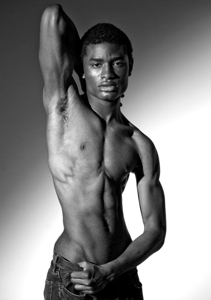celeb african black nude male
