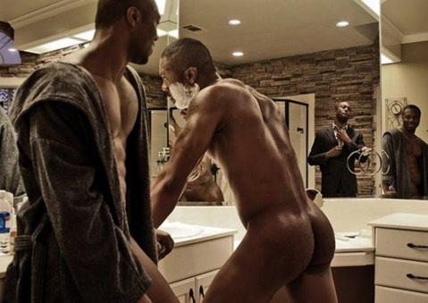 Actor Idris Elba Naked