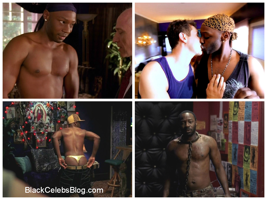 Nelsan Ellis Hot and Half Nude
