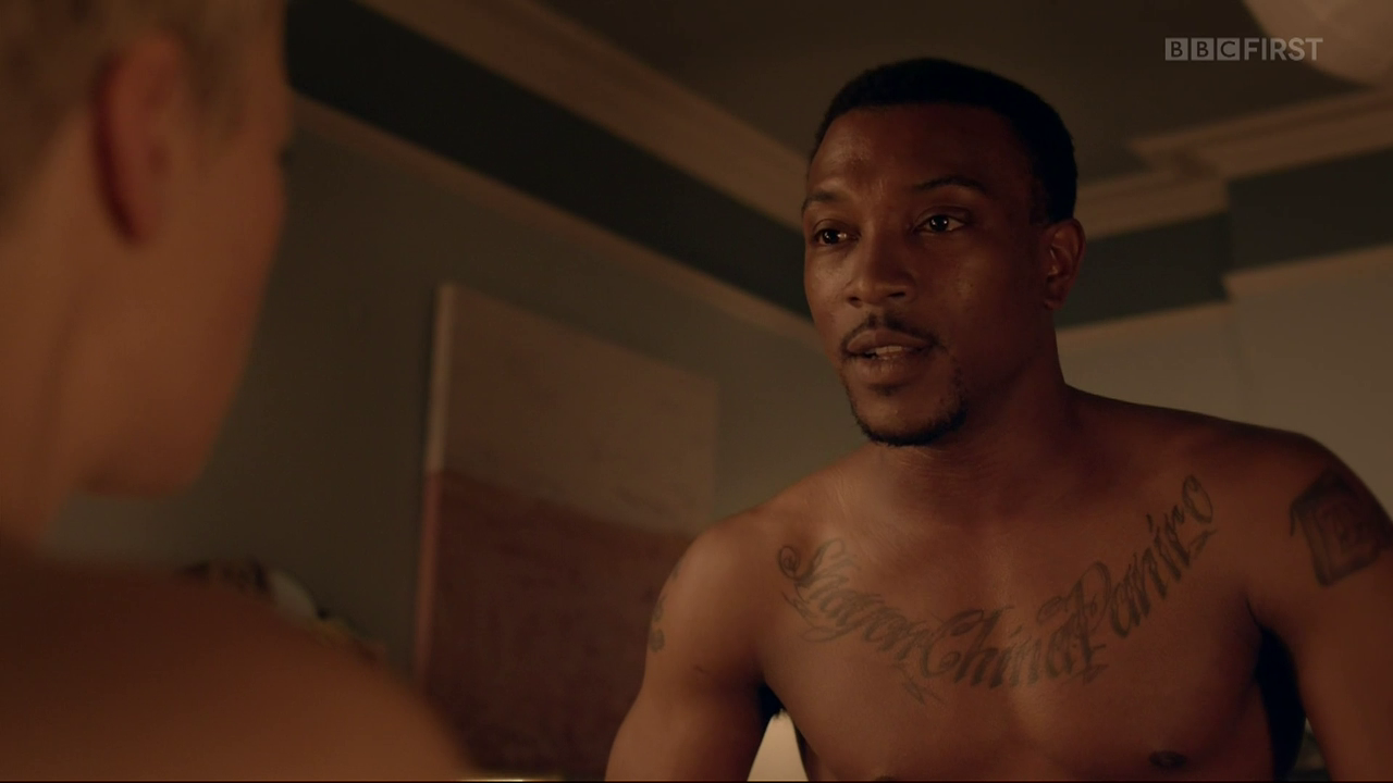 Ashley Walters Shirtless